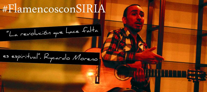 #FlamencosconSIRIA Ayuda Humanitaria al pueblo sirio
