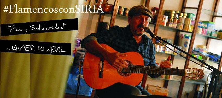 #FlamencosconSIRIA Javier Ruibal apoya al campaña de ayuda humanitaria en Lebrija