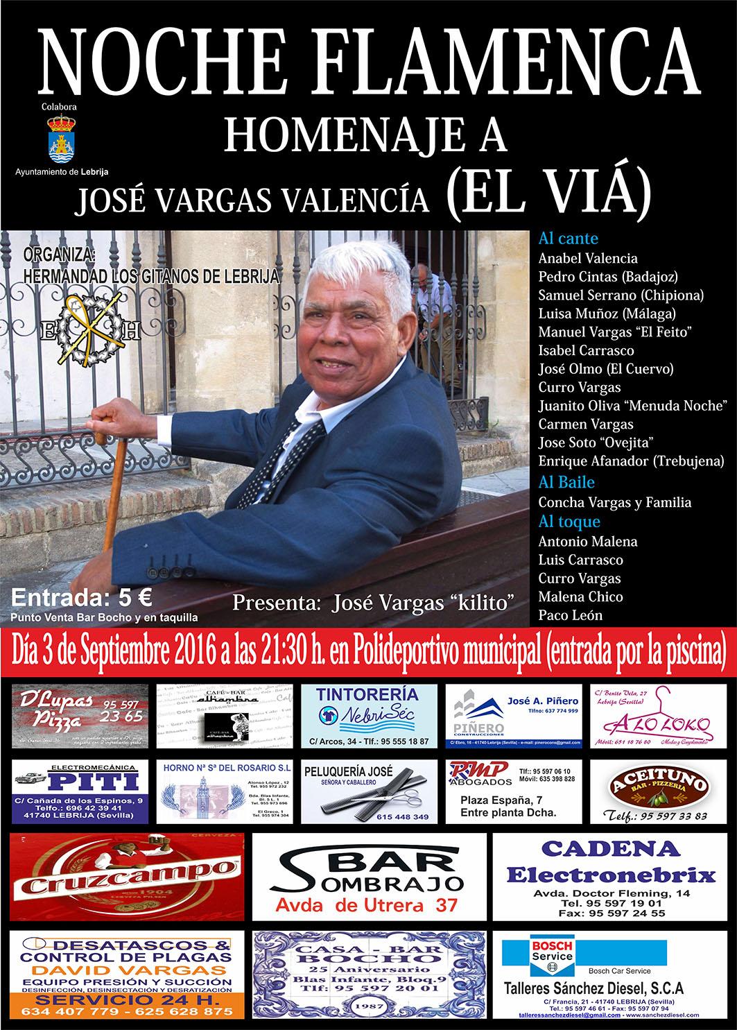 Cartel HERMANDAD LOS GITANOS noche flamenca_web