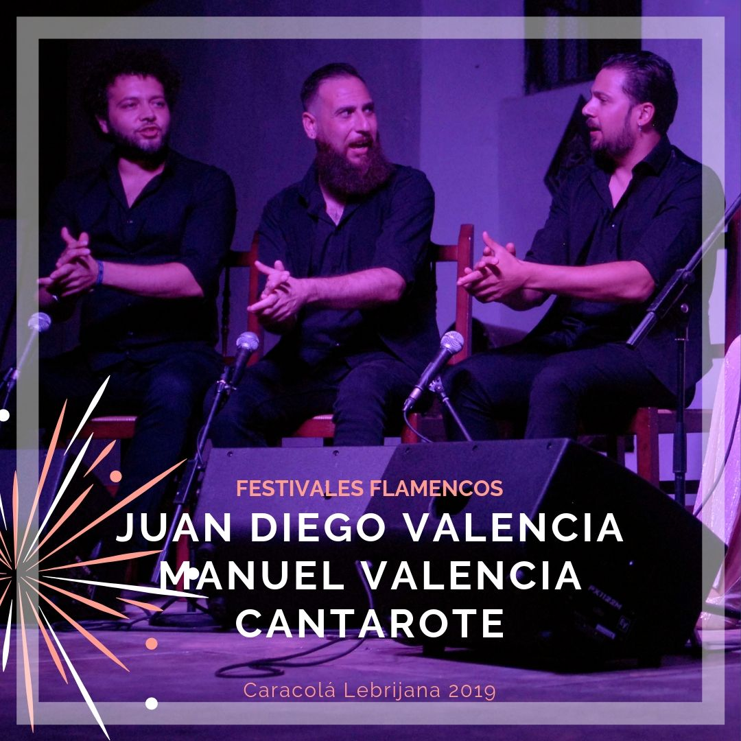 Artistas flamencos 54 Caracolá Lebrijana 2019_palmeros Anabel Valencia