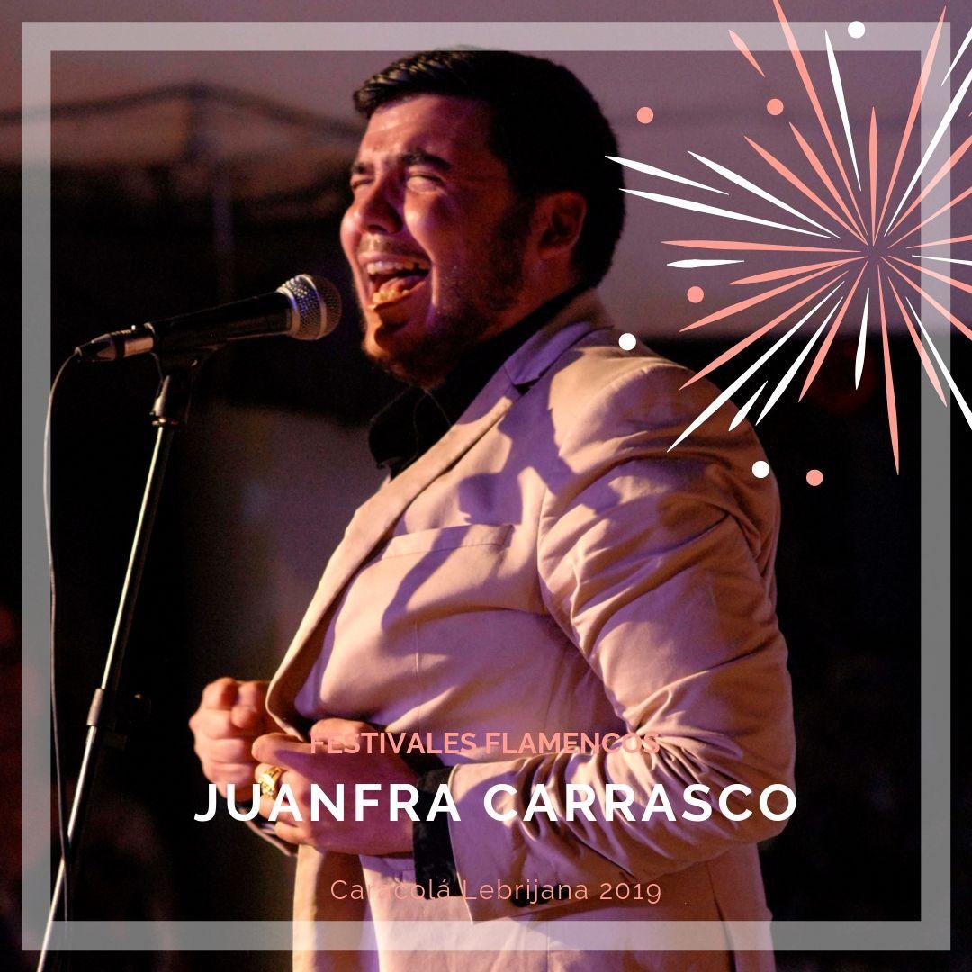 Artistas flamencos 54 Caracolá Lebrijana 2019_JuanFra Carrasco