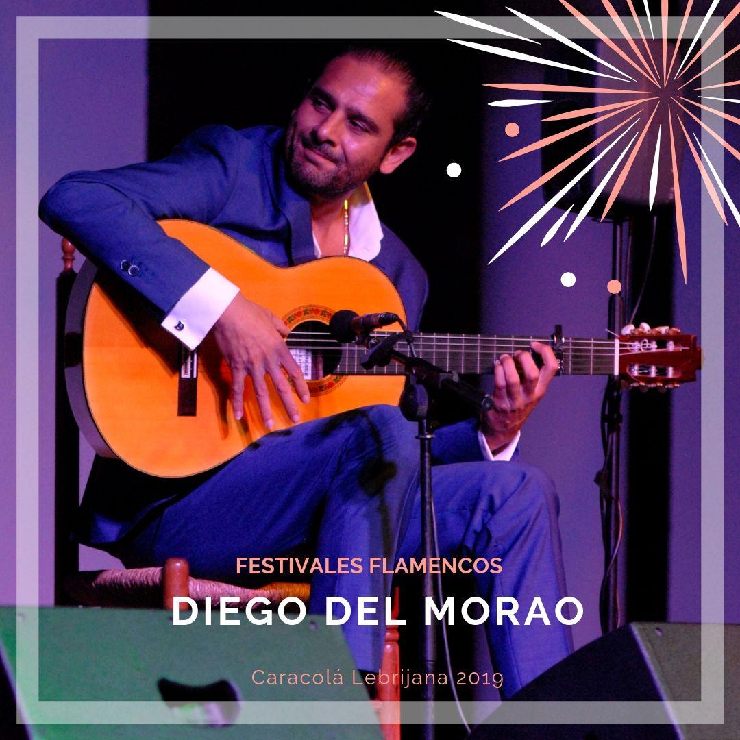 Artistas flamencos 54 Caracolá Lebrijana 2019_Diego del Morao