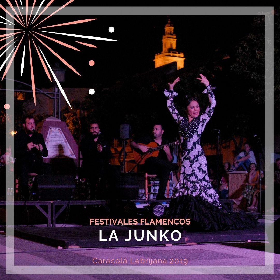 Artistas flamencos 54 Caracolá Lebrijana 2019_La Yunko