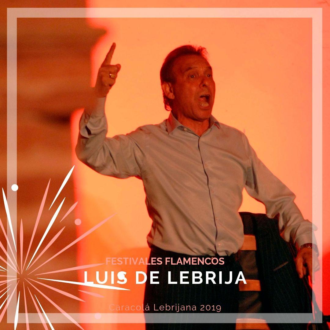 Artistas flamencos 54 Caracolá Lebrijana 2019_Luis de Lebrija