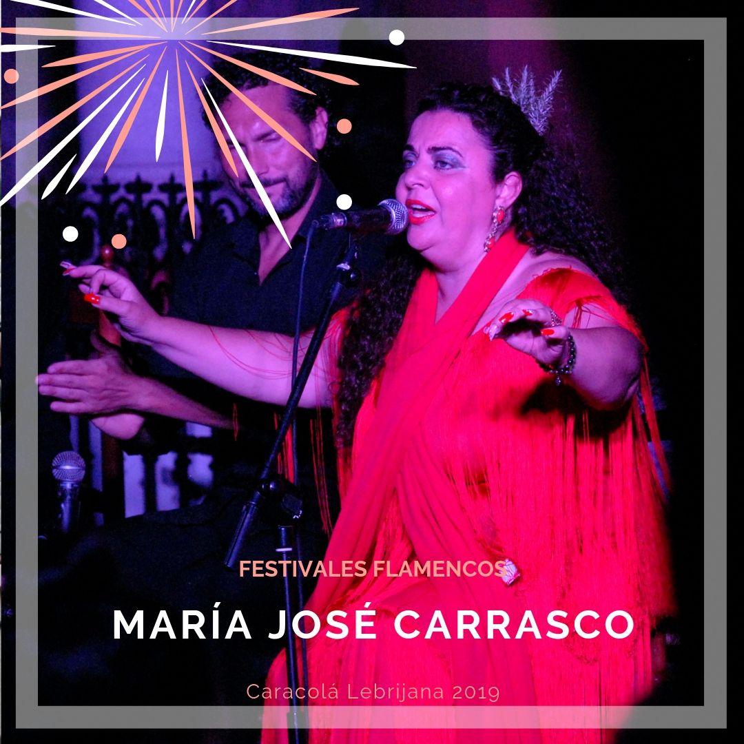 Artistas flamencos 54 Caracolá Lebrijana 2019_María José Carrasco