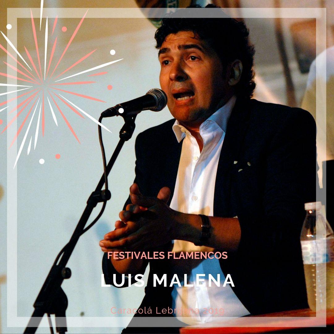 Artistas flamencos 54 Caracolá Lebrijana 2019_Luis Malena