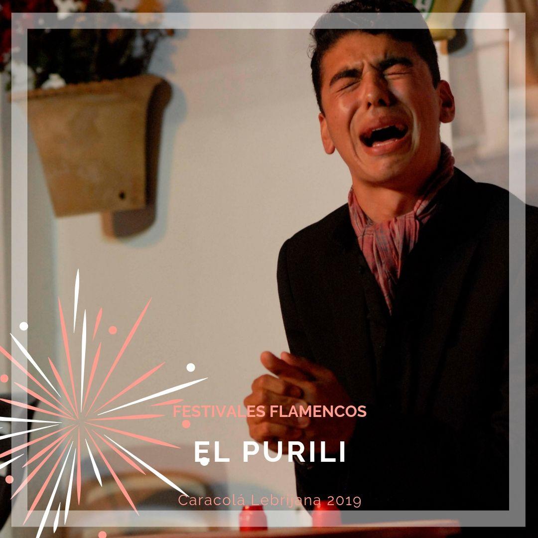 Artistas flamencos 54 Caracolá Lebrijana 2019_El Purili