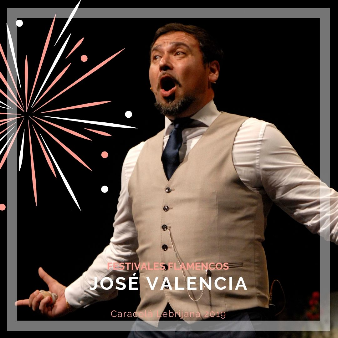 Artistas flamencos 54 Caracolá Lebrijana 2019_José Valencia