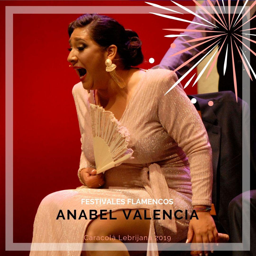 Artistas flamencos 54 Caracolá Lebrijana 2019_Anabel Valencia