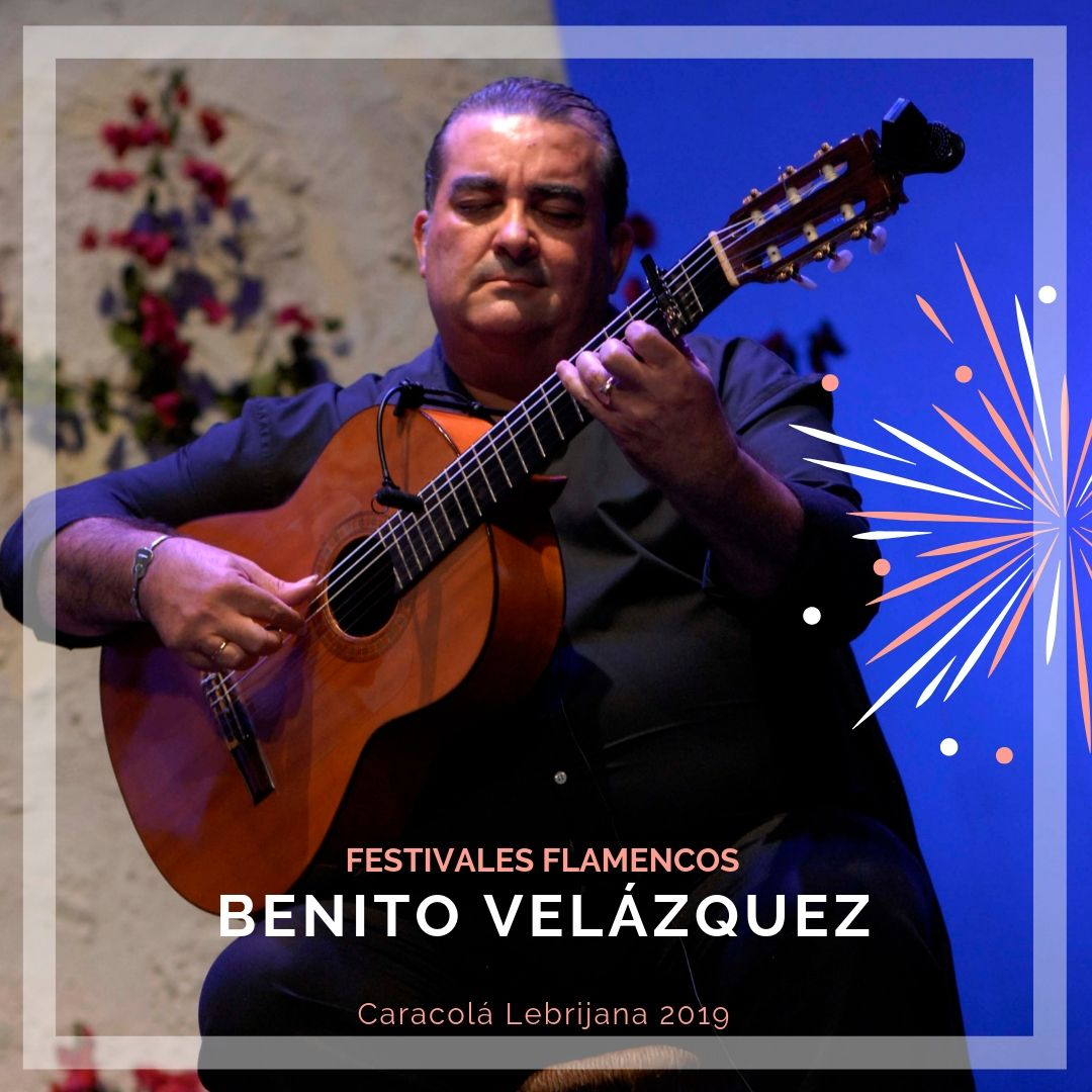 Artistas flamencos 54 Caracolá Lebrijana 2019_Benito Velázquez
