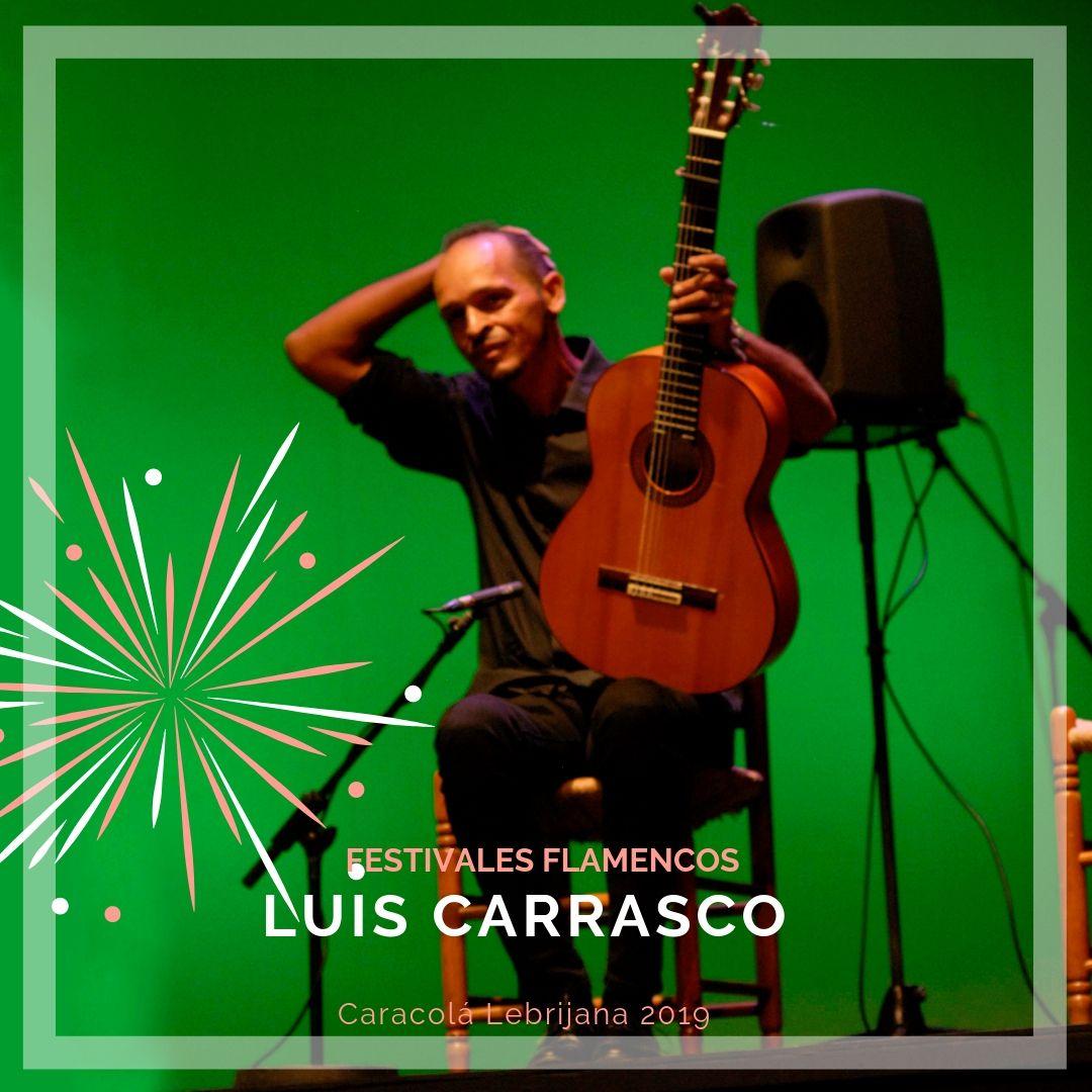 Artistas flamencos 54 Caracolá Lebrijana 2019_Luis Carrasco