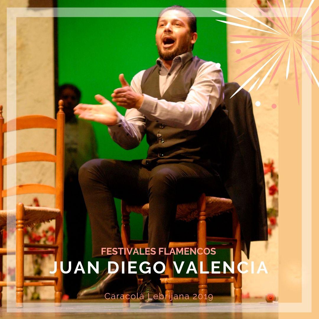Artistas flamencos 54 Caracolá Lebrijana 2019_Juan Diego Valencia