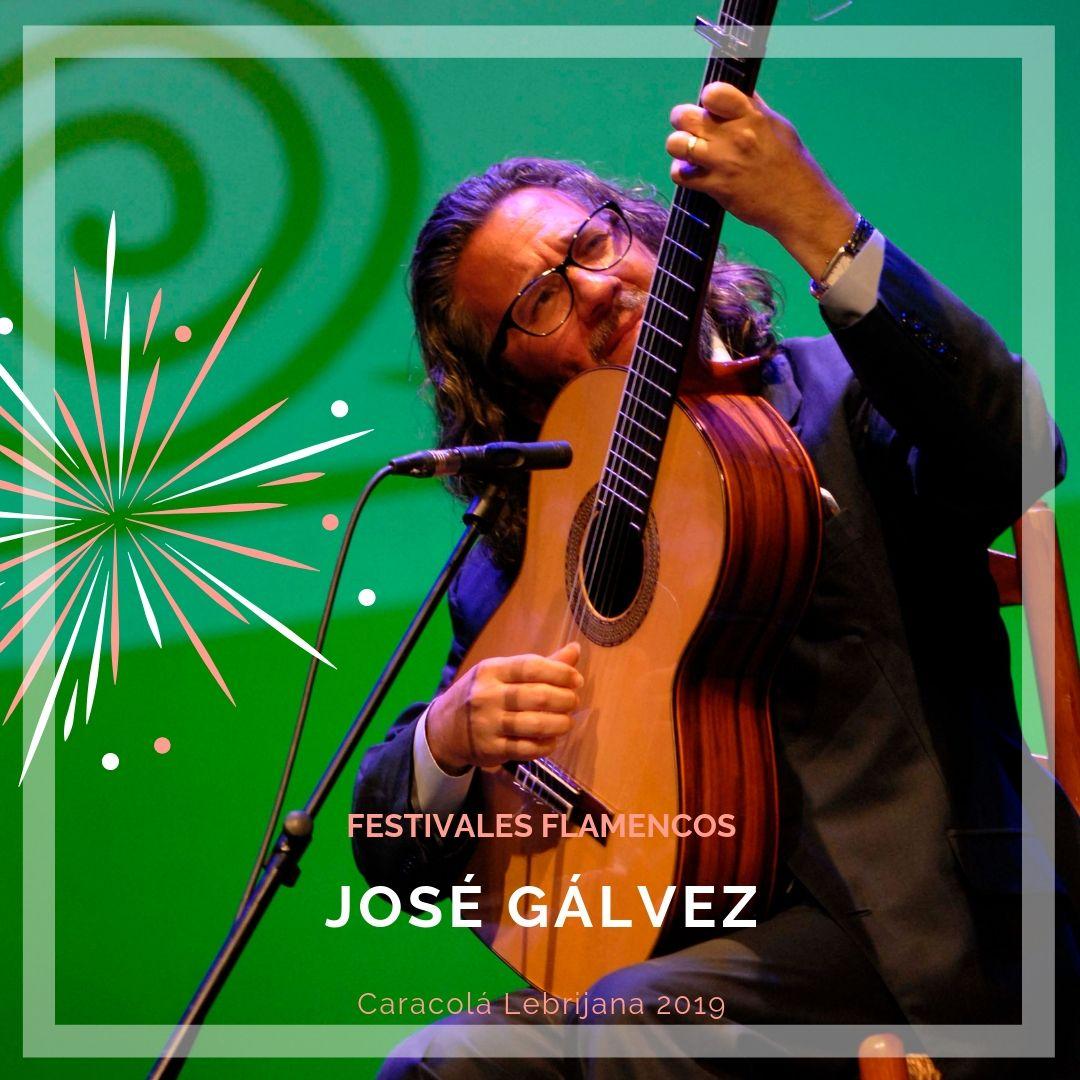 Artistas flamencos 54 Caracolá Lebrijana 2019_José Gálvez