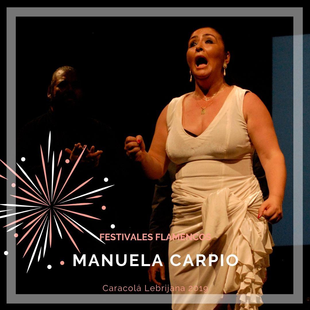 Artistas flamencos 54 Caracolá Lebrijana 2019_Manuela Carpio