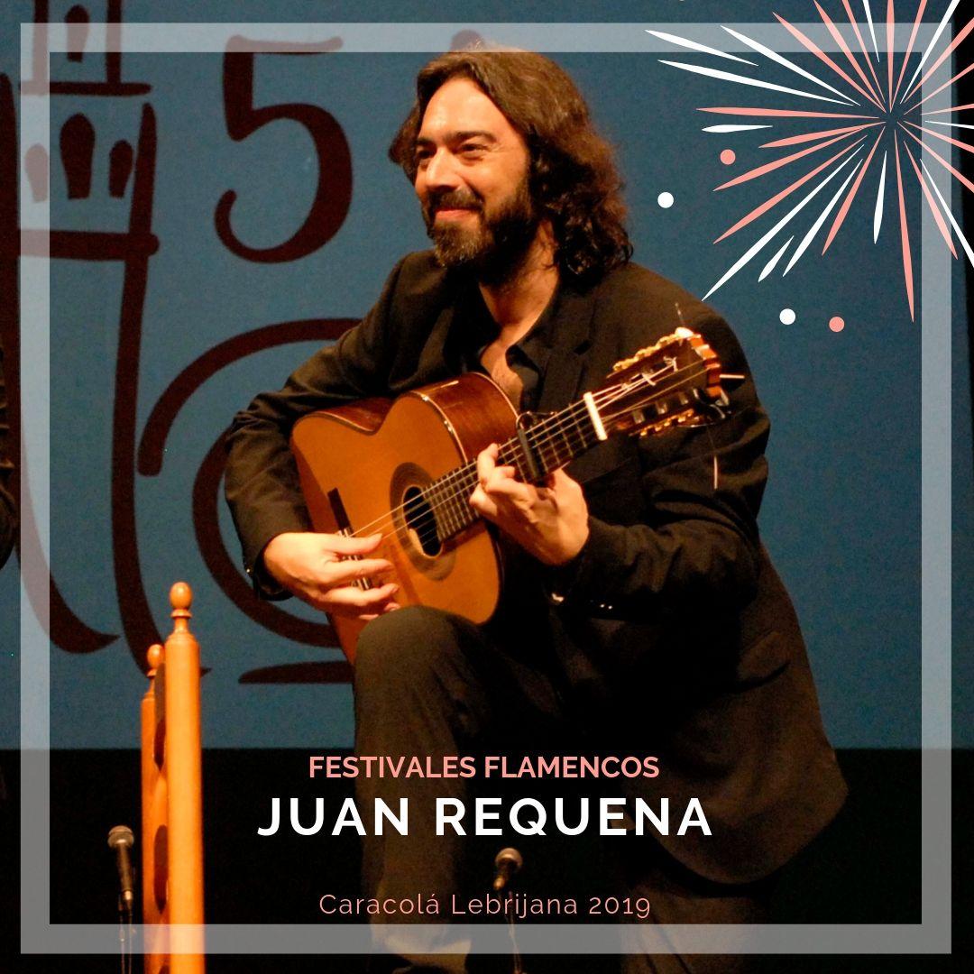 Artistas flamencos 54 Caracolá Lebrijana 2019_Juan Requena