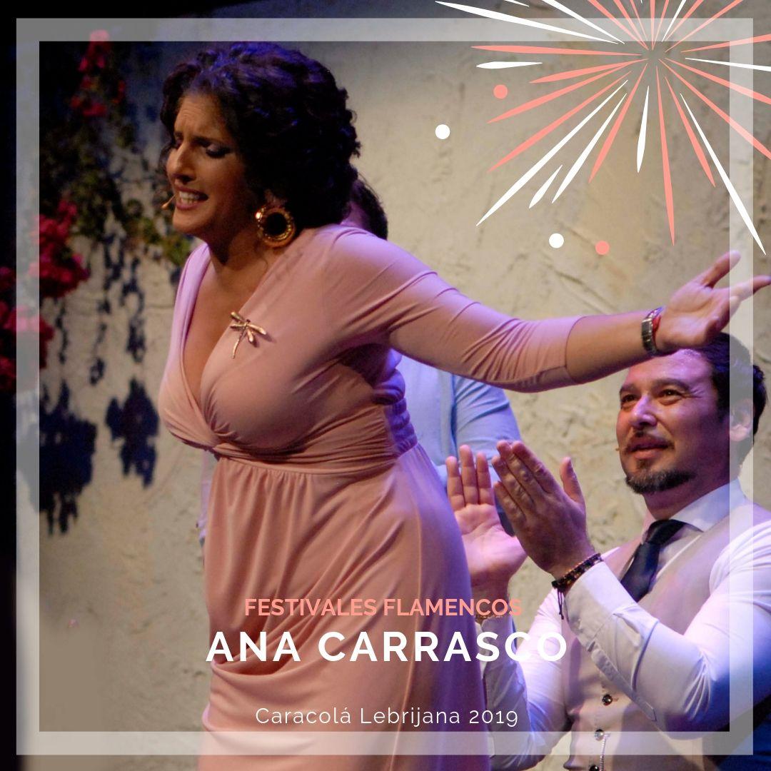 Artistas flamencos 54 Caracolá Lebrijana 2019_Ana Carrasco